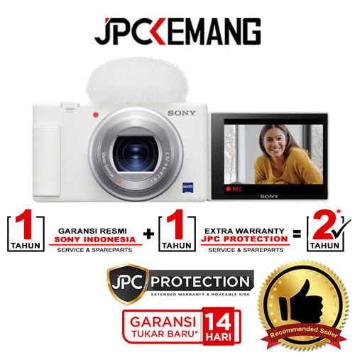 Foto Produk Sony ZV1 Sony ZV 1 Kamera Vlog Compact Digital Camera GARANSI RESMI - White dari JPCKemang