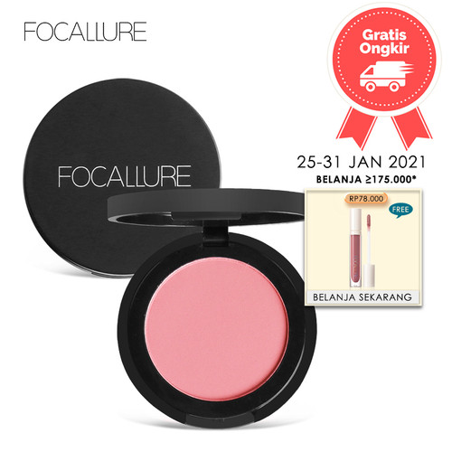 Foto Produk FOCALLURE Blush Natural Pressed Blusher FA25B - FA25B-01 dari beauty entity