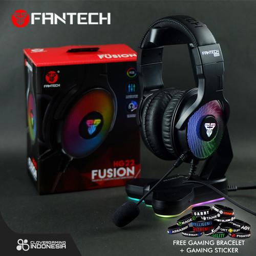 Foto Produk Fantech FUSION HG22 RGB 7.1 Surround Sound - HG22 HG-22 Gaming Headset dari Clover Gaming Indonesia
