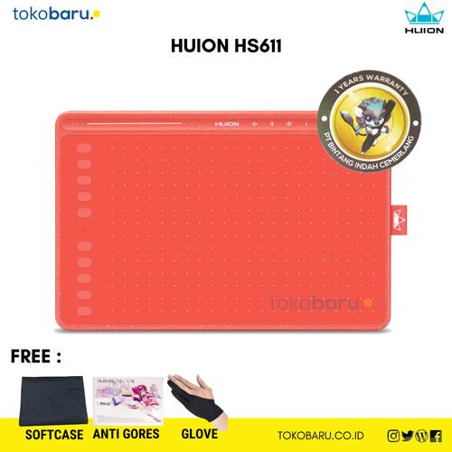 Foto Produk Huion HS611 Drawing Tablet Garansi Resmi 1 Tahun dari Kohen Store