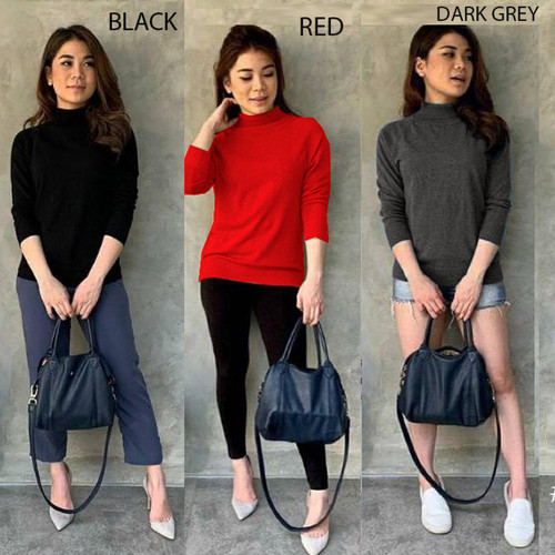Foto Produk Turtleneck Blouse dari Nina Fashion