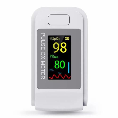 Foto Produk Oximeter Fingertip Pulse/oxymeter alat pengukur oksigen darah akurat dari Barokah Herbal Jaya