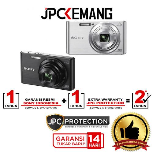Foto Produk Camera Sony Cybershot DSC-W830 / W830 / W-830 (Silver) Kamera - Perak dari JPCKemang