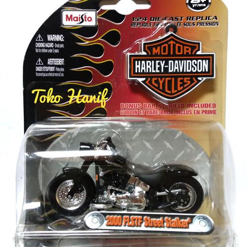 Foto Produk Diecast Miniatur Motor Harley Davidson 1 : 24 dari Toko Diecast Hanif