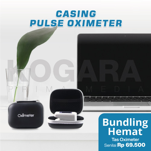 Foto Produk Oximeter Oxymeter Fingertip Pulse - Ukur heartrate kadar oksigen darah - Bundling Hemat dari Kogara