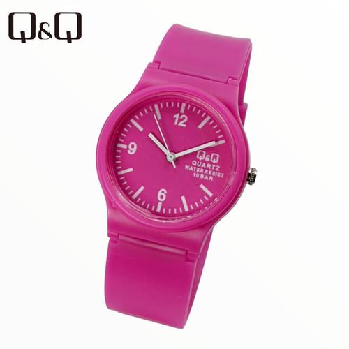 Jual Jam Tangan Qq Warna Bulat Pink Jakarta Pusat Kobada93 Tokopedia