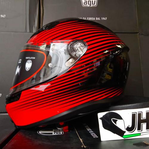 Jual Agv K6 Rush Black Red The Newest Line From Agv Kota Semarang Jual Helm Agv Tokopedia