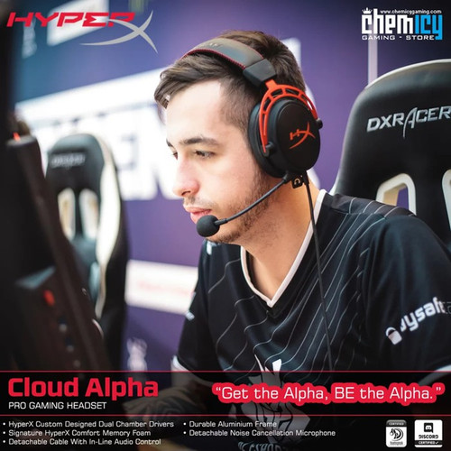 Foto Produk HyperX Cloud Alpha Pro Gaming Headset - GARANSI RESMI 2 TAHUN dari Chemicy Gaming