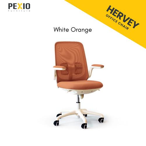 Foto Produk Kursi kantor PEX | Office Chair PEX | Hervey - Orange dari PEXIO Furniture