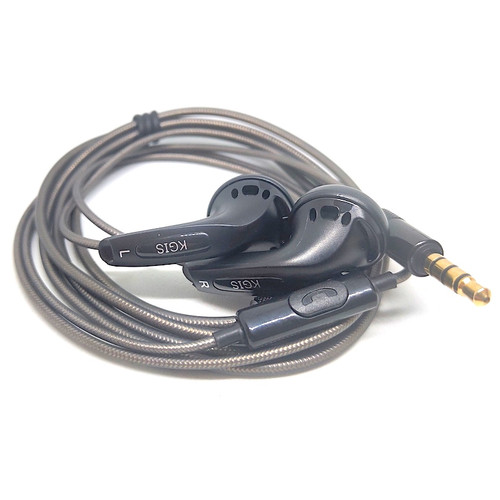 Foto Produk KGIS P1 HiFi Sound Bass Earphone Durable Cable Headset With Mic dari Onebest Choice