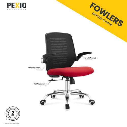 Foto Produk Fowlers   Kursi Kantor Jaring Manager   Kursi Jaring   dari PEXIO Furniture