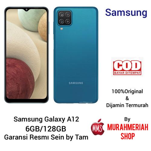 Jual Samsung Galaxy A12 4 128 6 128 Garansi Resmi Sein By Tam Ram 4gb 128gb Putih Jakarta Selatan Murahmeriah Shop Tokopedia