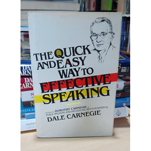 Foto Produk THE QUICK AND EASY WAY TO EFFECTIVE SPEAKING - DALE CARNAGIE dari Anelinda Buku Koleksi