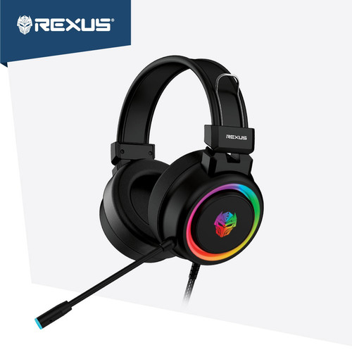 Foto Produk REXUS Vonix F30 Headset Gaming LED RGB Spectrum dari manekistore