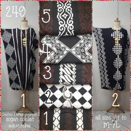 Foto Produk Daster kalong premium batik sogan coklat (adem.tdk berbulu) dari Winnie Collection