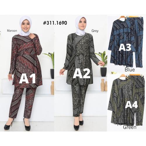Jual Setelan Gamis Celana Setelan Muslim One Set Celana Muslim Kode A Jakarta Utara Saveme Label Tokopedia