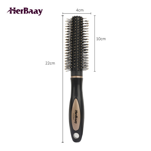 Herbaay Hair Comb Sisir Anti Kusut Anti Listrik Statis - Hitam 5