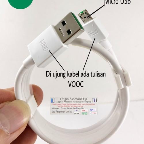 Foto Produk ORIGINAL Kabel Charger OPPO VOOC Fast Charging F1 F1S F3 F7 N3 R7 dari Origin Aksesoris Hp Official Store