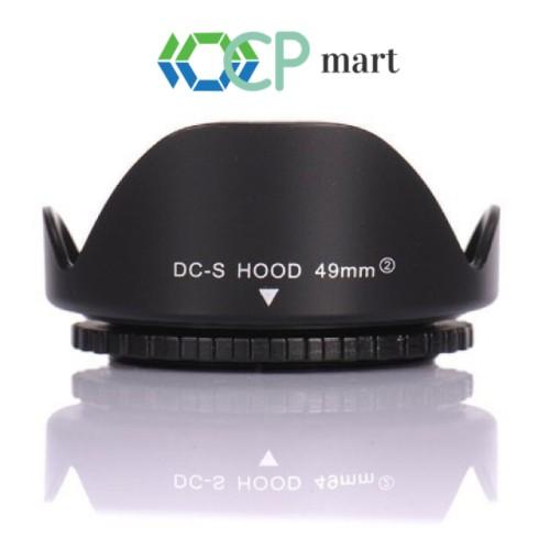 Foto Produk Lens Hood Flower 49mm Canon 15-45mm M3 M10 M100 M5 M5 M6 Sony Hood dari ocp mart