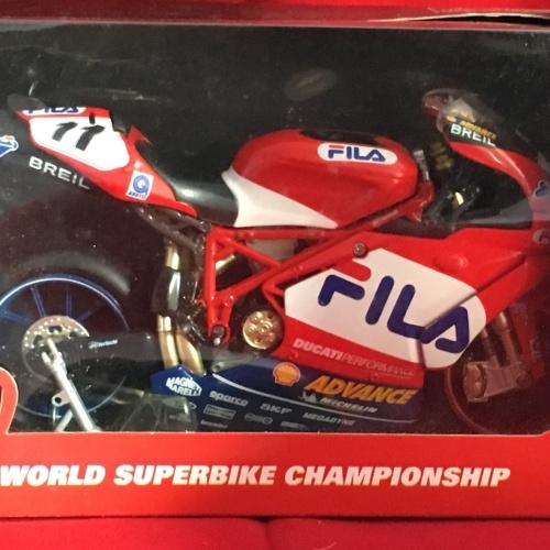 Foto Produk Newray 1/12 Diecast Motorcycles Ducati Fila dari Dompu Hobby Shop