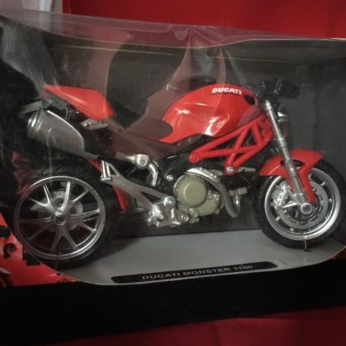 Foto Produk Newray 1/12 Diecast Motorcycles Ducati Monster 1100 dari Dompu Hobby Shop