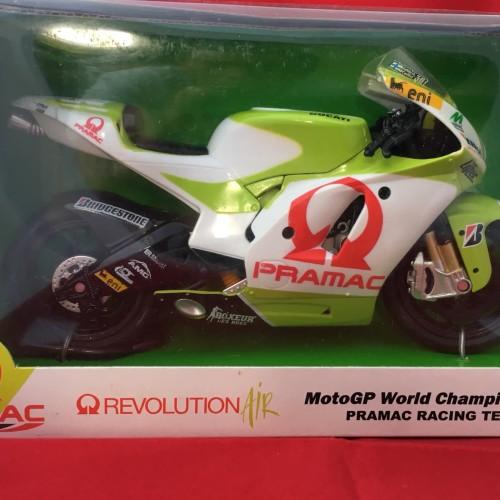 Foto Produk Newray 1/12 Diecast Motorcycles MotoGP World Championship Team Pramac dari Dompu Hobby Shop