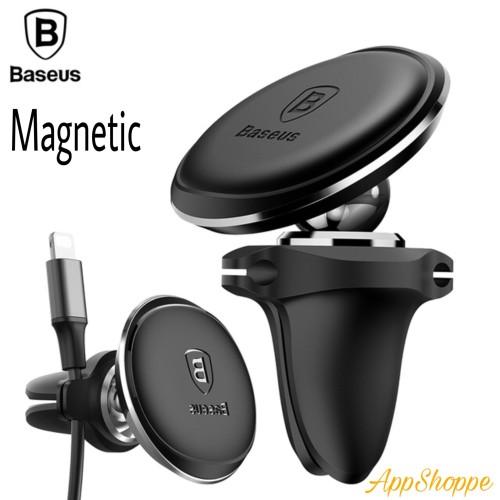 Foto Produk BASEUS 360 Rotation Magnetic Air Vent Handphone Car Cable Clip Holder dari AppShoppe