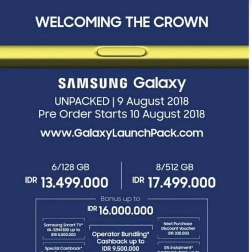 Foto Produk Samsung note 9 dari 9 jaya cellular