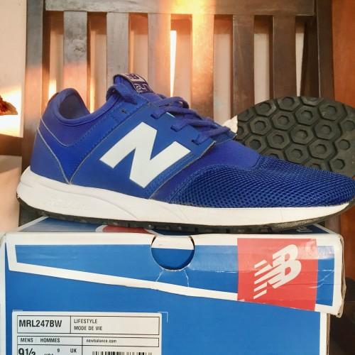 New Balance Men 247 Classic Mrl 247 Bw Blue White