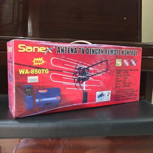 Foto Produk Antena TV Sanex dengan remote kontrol WA-850TG dari berjaya elektrik