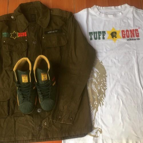 comer deseo leyendo  Jual Adidas x Tuff Gong / Adidas Bob Marley (RARE) - Kota Bandung -  Rastaferi   Tokopedia