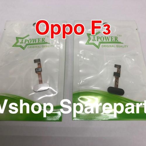 Foto Produk Flexibel Flexible Home Finger Oppo F3 R9S+ white - Putih dari vshop sparepart
