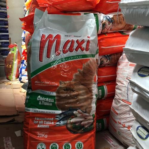 Foto Produk Maxi cat 20kg mirip leandro sabina felibet bolt cat food dari Grosiran Petshop Bekasi