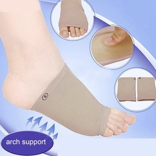 Foto Produk 1 pasang kaos kaki gel / pad silicone arch support feet care socks dari Venditionis_shop