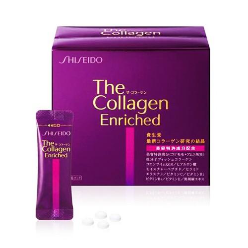 Foto Produk SHISEIDO The Collagen Enriched Tablet – 4 Tablets x 60 Packs dari beautyandthetink