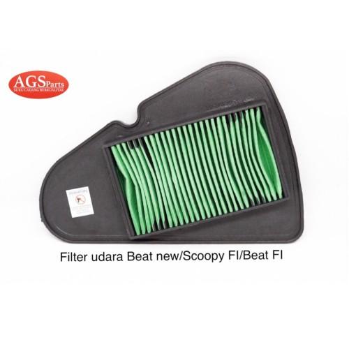 Foto Produk Filter udara honda beat new/vario 110 fi/scoopy fi/beat fi dari AGSparts