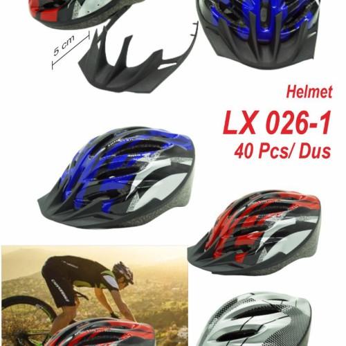 Foto Produk Helm helmet sepeda Dewasa Bagus Import Lx 026-1 ORI dari Hebohstore