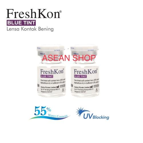 Foto Produk softlens bening tahunan freshkon kadar air tinggi 55 % ready minus -10 dari ASEAN Shop