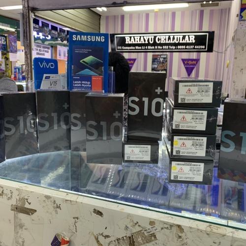 Foto Produk Samsung s10+ 8/128 new resmi sein dari vivi cellular