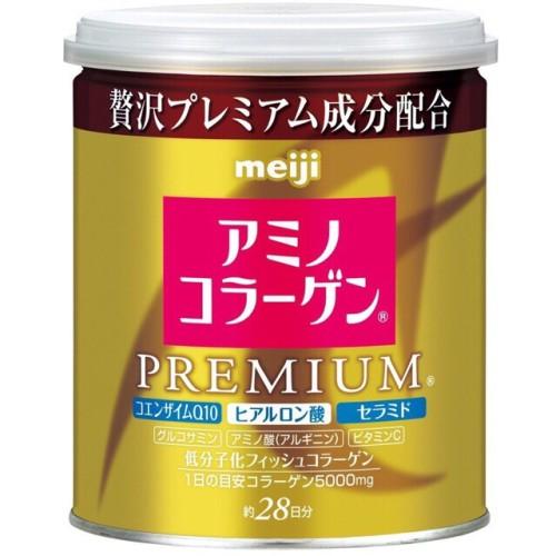 Foto Produk Meiji Amino Collagen Premium Can (Kaleng) with spoon dari beautyandthetink