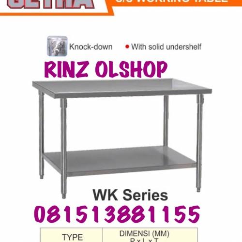 Jual WK150 STAINLESS STEEL WORKING TABLE WK-150 MEJA DAPUR ...