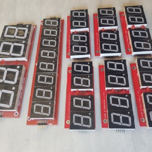 Foto Produk Jadwal sholat digital jam 1.8 inch kalender dan jadwal 1 inch plus mp3 dari dacxtronik