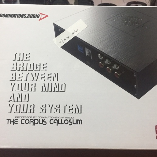 Foto Produk ADSP (Ampli w/ DSP) DOMINATIONS THE CORPUS CALLOSUM 6425 6ch SIGMAdsp dari LCIA-AUDIO