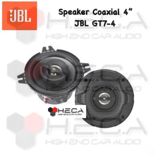 Foto Produk Speaker Coaxial Mobil 2 way 4inch JBL GT7-4 GT74 dari High End Car Audio