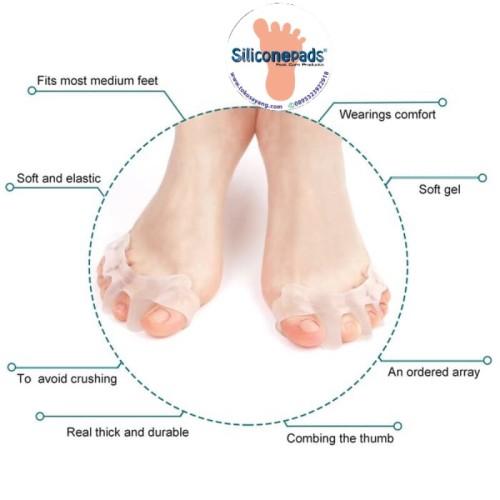 Foto Produk Toe Orthopedic Supplies Gel Toe Separator Stretcher dari toko sayang
