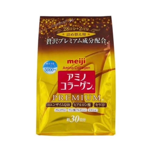 Foto Produk Meiji Amino Collagen Premium Refill 214gr dari beautyandthetink