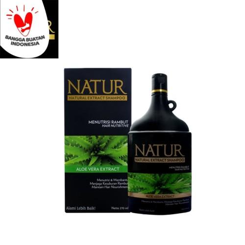 Foto Produk Natur Shampoo Aloe Vera 270 Ml dari Back To Natur