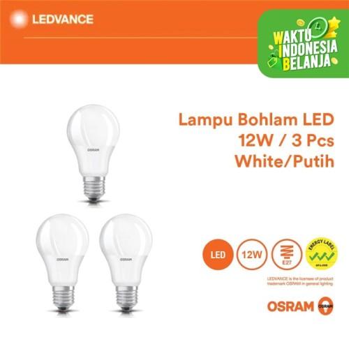 Foto Produk Osram Lampu Bohlam LED 12 Watt 3 Pcs - Putih dari Ledvance Official Store