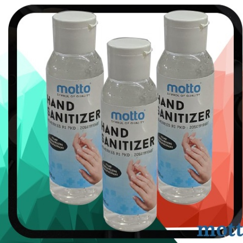 Foto Produk HAND SANITIZER MOTTO PENCUCI 100ML TANGAN ANTI CORONA dari startled.id