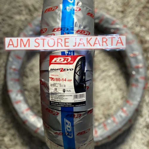 Foto Produk FDR Sport Zevo 90/80-14 Tubeless.. dari AJM Store Jakarta